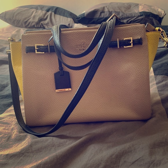 Kate Spade Holden Street Lanie Leather Satchel